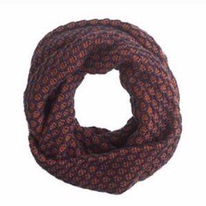Jcrew honeycomb infinity scarf